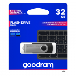 PENDRIVE GOODRAM UTS3 32GB...